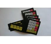 Наклейка на клавиатуру для торговых весов